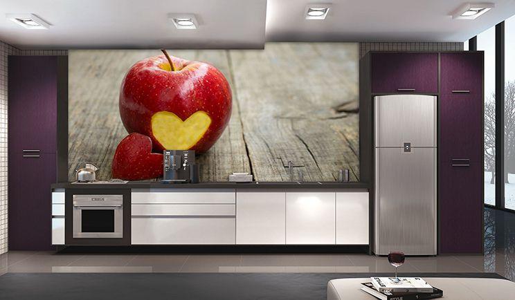 Papel De Parede Para Cozinha 0018 - Sobmedida: m²   - Paredes Decoradas