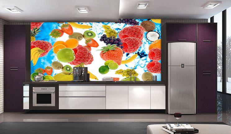 Papel De Parede Para Cozinha 0022 - Sobmedida: m²