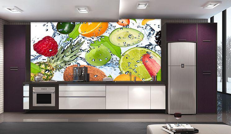 Papel De Parede Para Cozinha 0024 - Sobmedida: m²