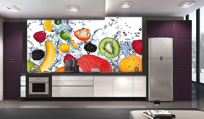 Papel De Parede Para Cozinha 0027 - Sobmedida: m²    - Paredes Decoradas