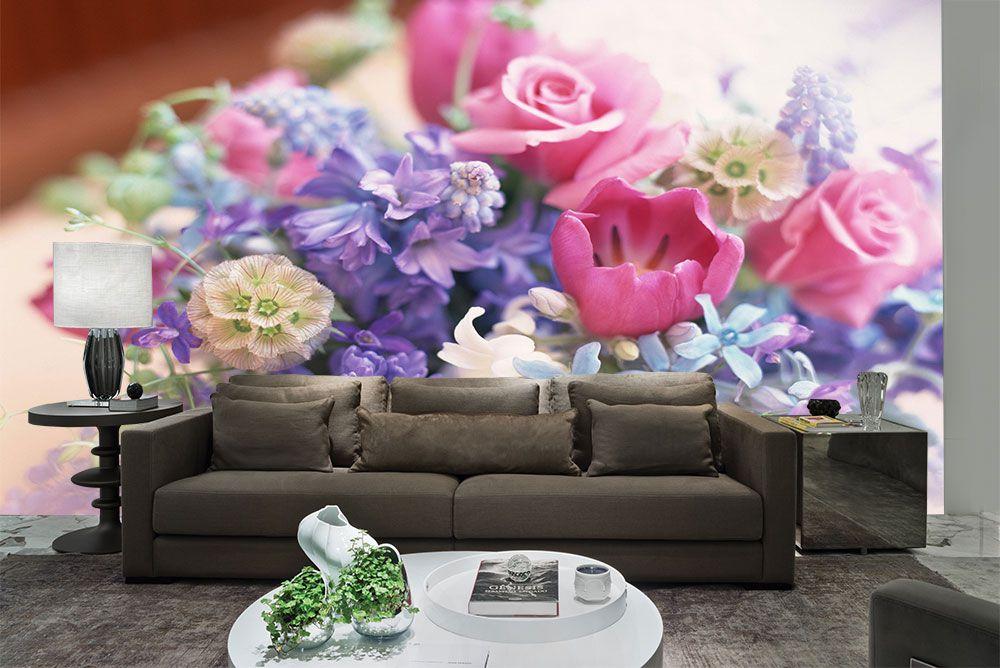 Papel De Parede 3D | Flores 0007 - papel de parede paisagem