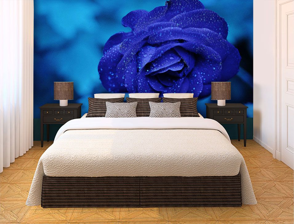 Papel De Parede 3D | Flores 0009 - papel de parede paisagem  - Paredes Decoradas