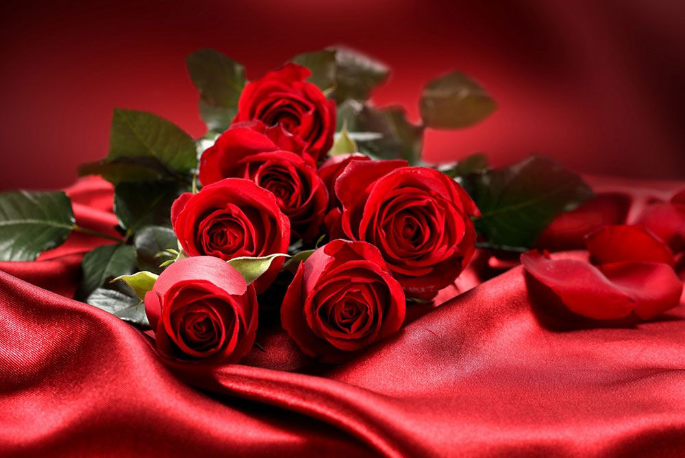 Papel De Parede 3D | Flores 0012 - papel de parede de flores  - Paredes Decoradas