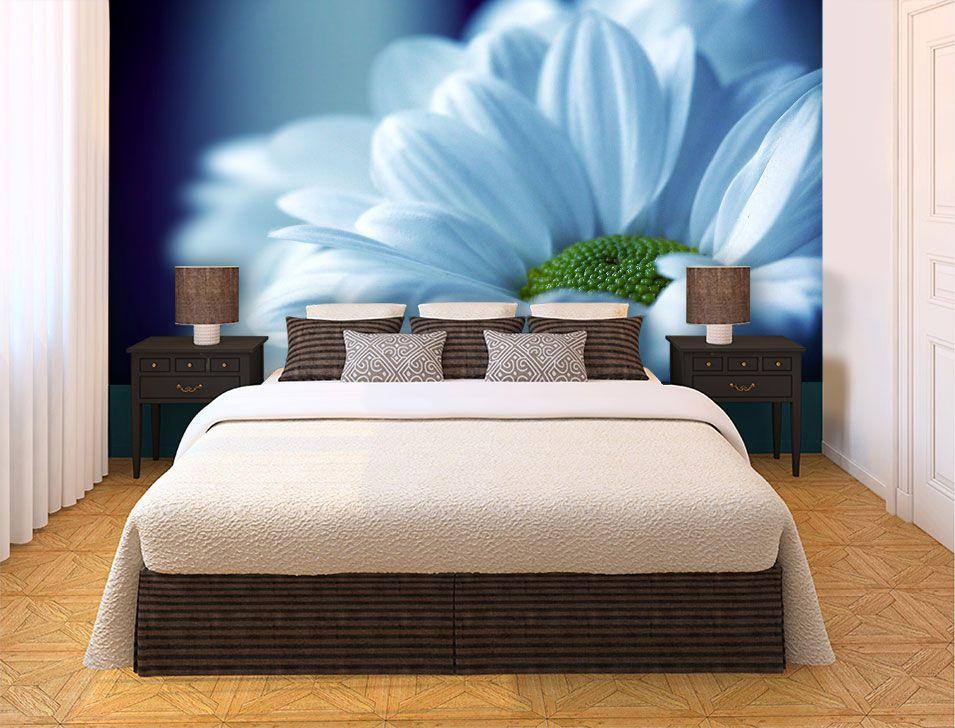 Papel De Parede 3D | Flores 0015 - papel de parede de flores  - Paredes Decoradas