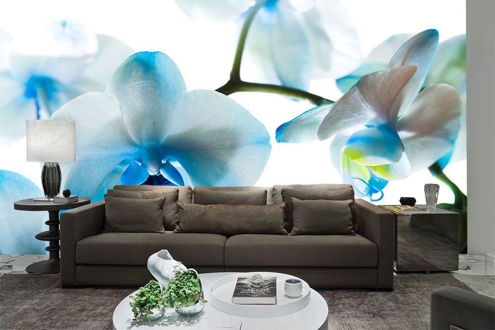 Papel De Parede 3D | Flores 0018 - papel de parede de flores  - Paredes Decoradas
