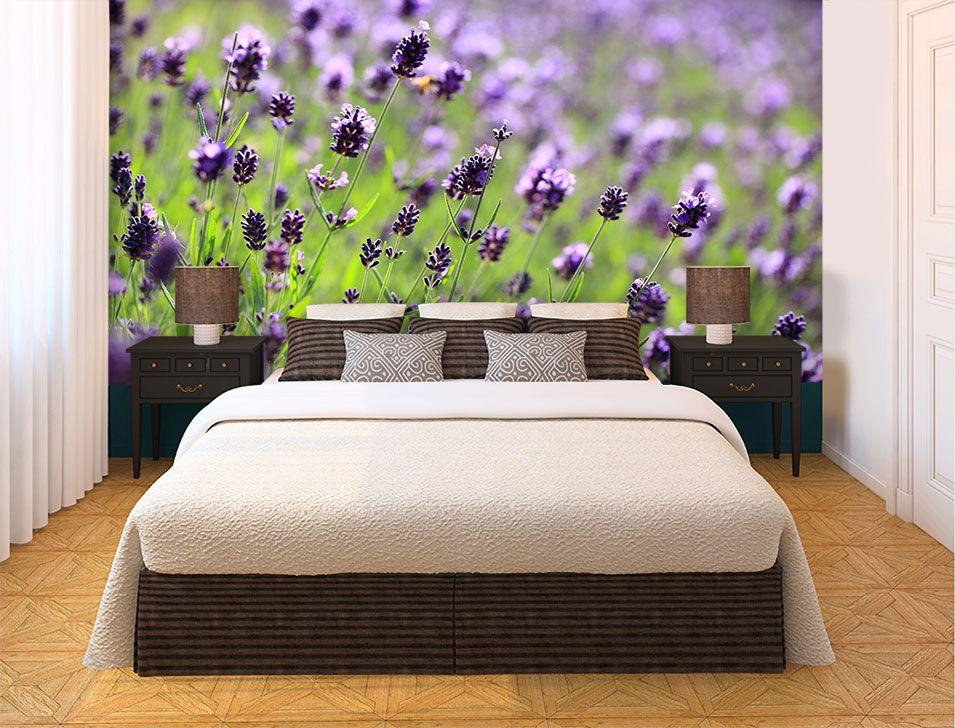 Papel De Parede 3D | Flores 0023 - papel de parede de flores  - Paredes Decoradas