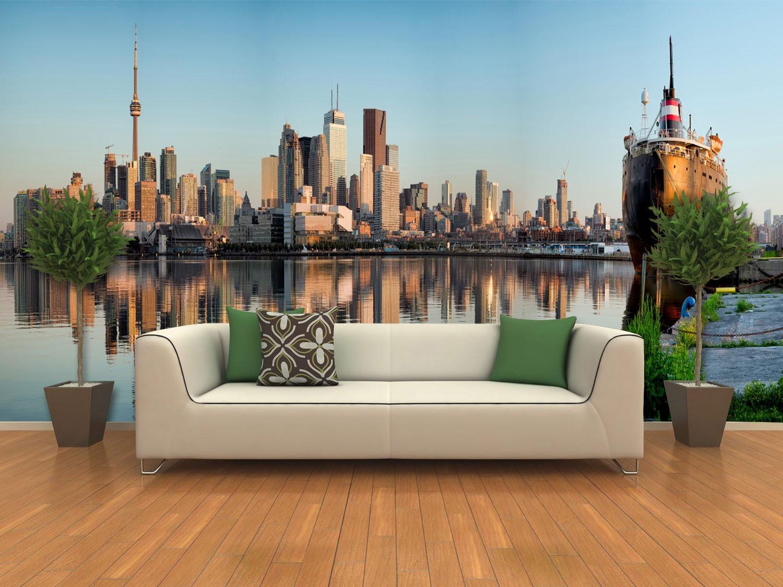 Papel De Parede 3D | Lagos 0002 - papel de parede paisagem  - Paredes Decoradas