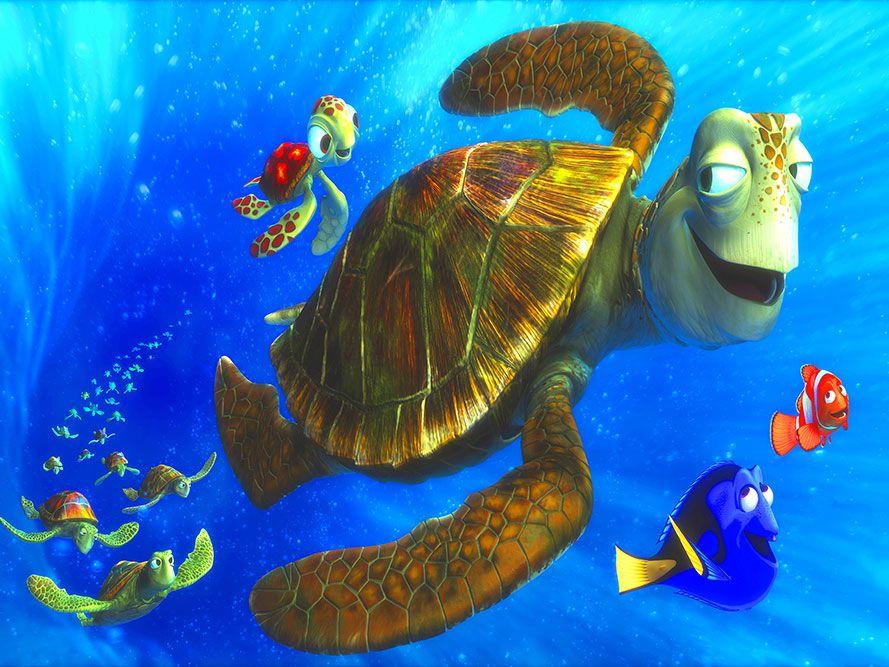 Papel de Parede 3D Nemo 0001 - Adesivos de Parede  - Paredes Decoradas