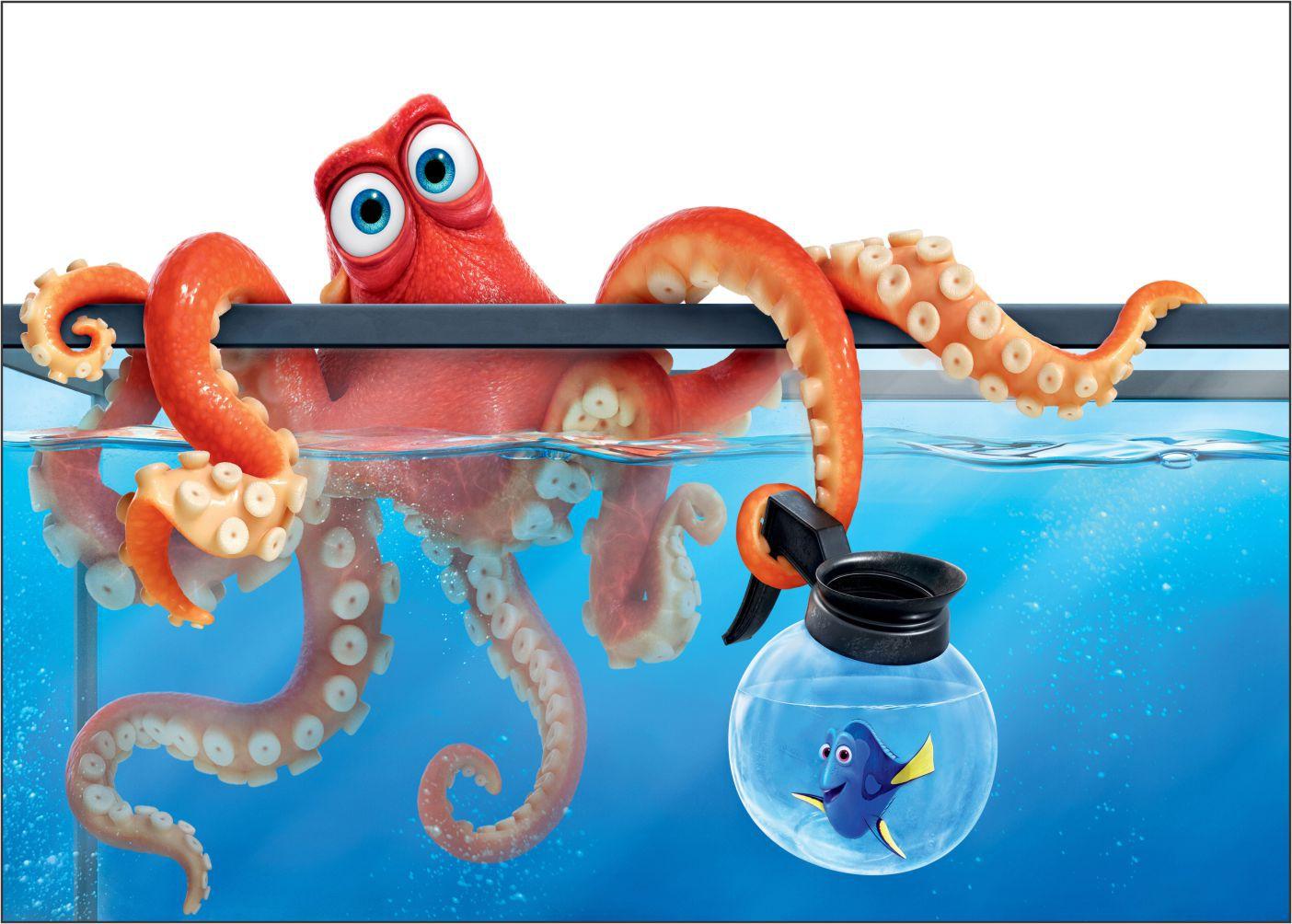 Papel de Parede 3D Nemo 0002 - Adesivos de Parede  - Paredes Decoradas