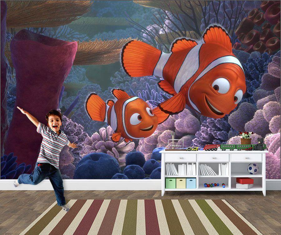 Papel de Parede 3D Nemo 0004 - Adesivos de Parede
