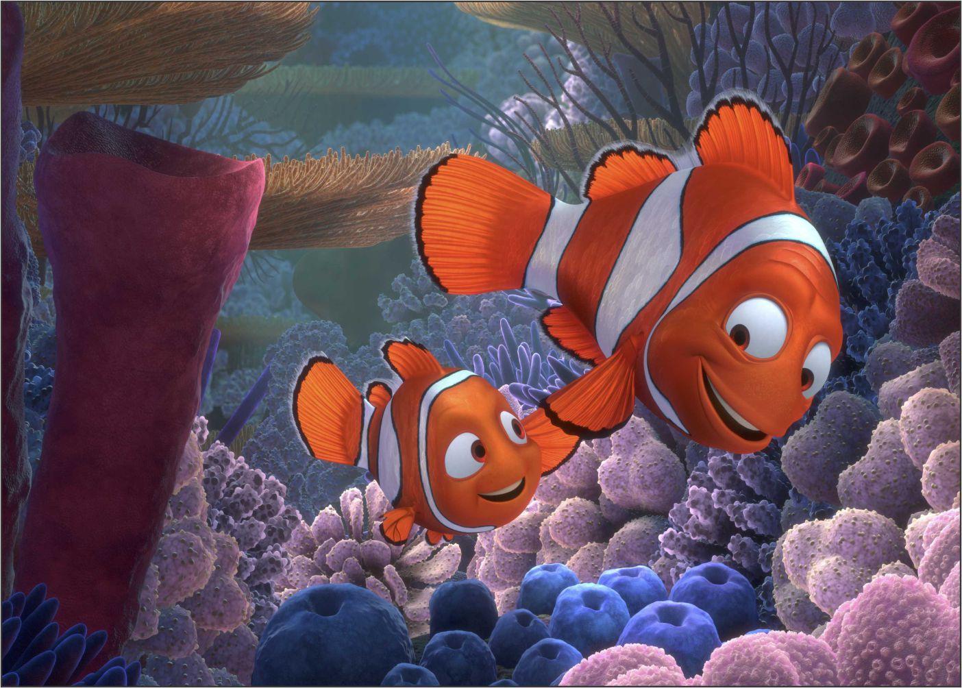 Papel de Parede 3D Nemo 0004 - Adesivos de Parede  - Paredes Decoradas