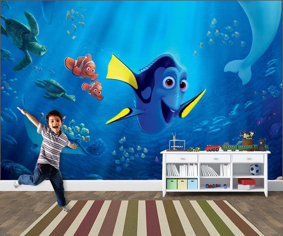 Papel de Parede 3D Nemo 0005 - Adesivos de Parede