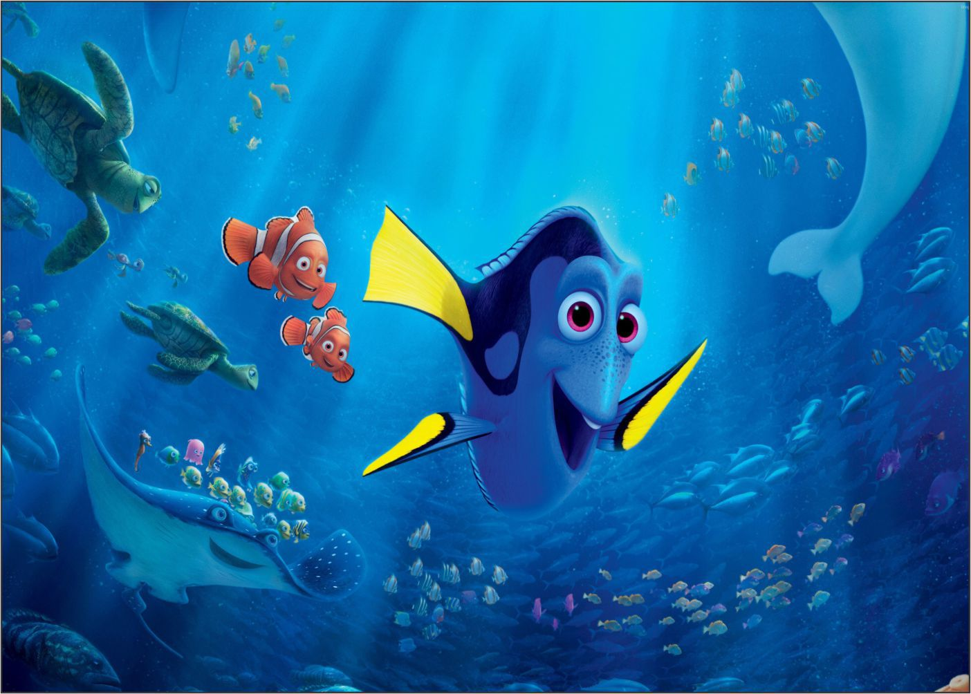 Papel de Parede 3D Nemo 0005 - Adesivos de Parede  - Paredes Decoradas
