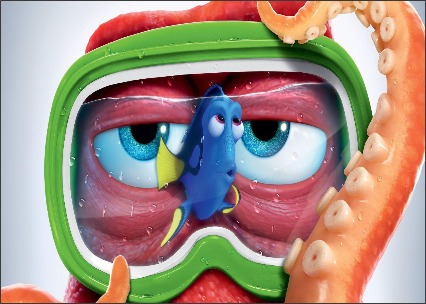 Papel de Parede 3D Nemo 0006 - Adesivos de Parede  - Paredes Decoradas