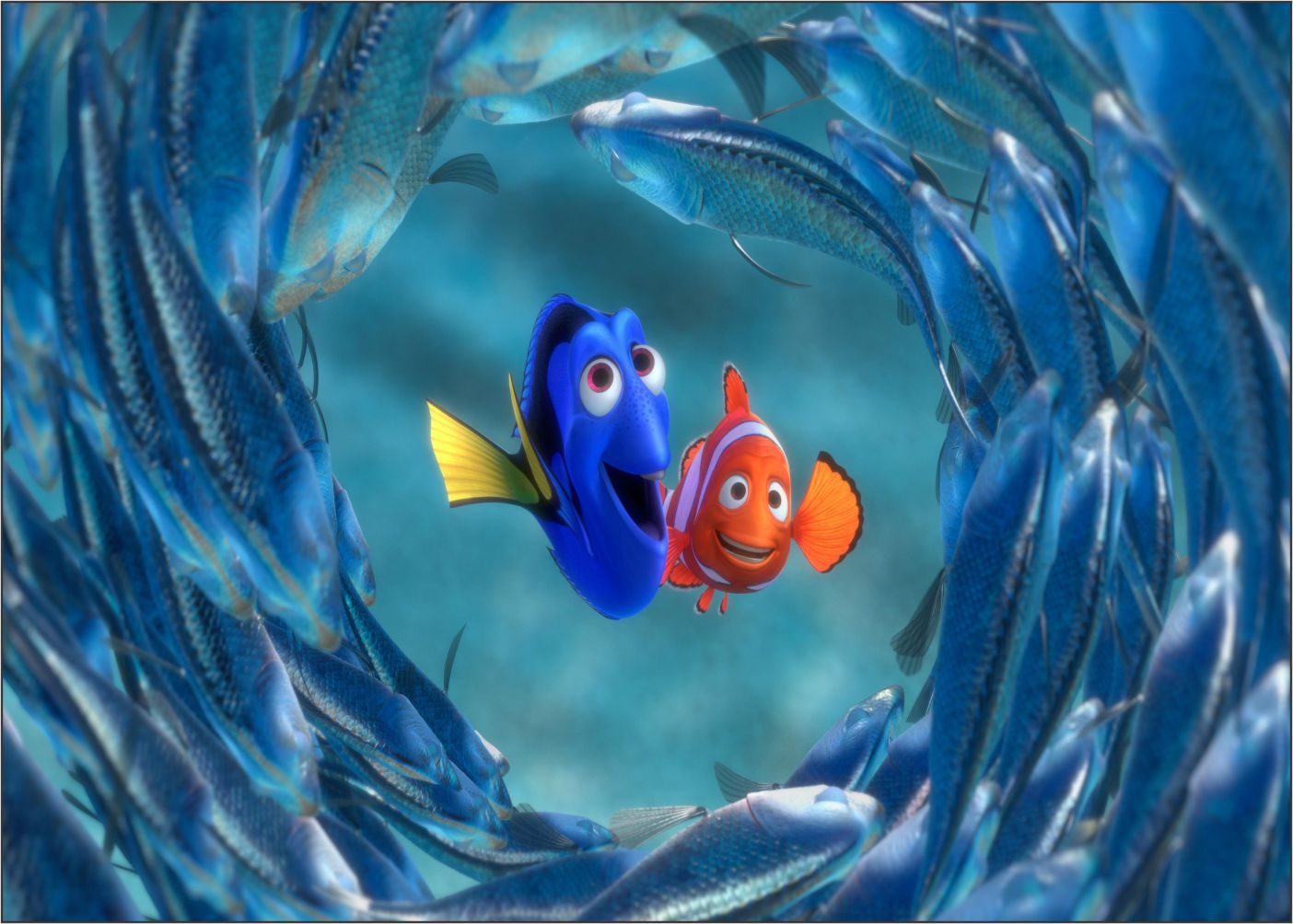 Papel de Parede 3D Nemo 0007 - Adesivos de Parede