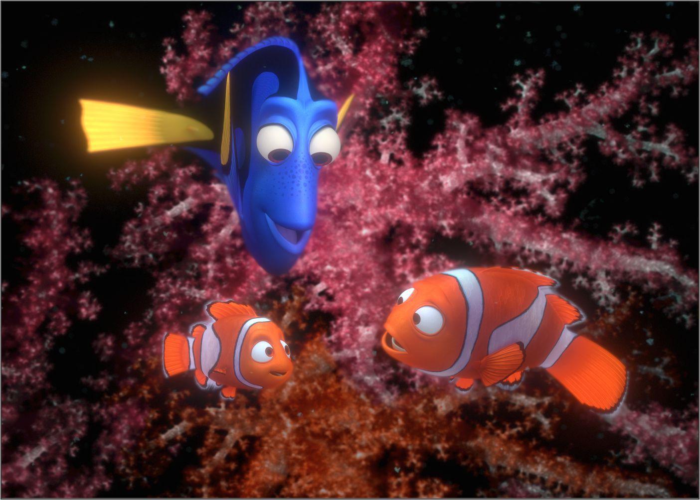 Papel de Parede 3D Nemo 0008 - Adesivos de Parede  - Paredes Decoradas