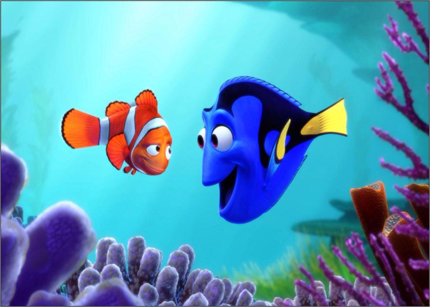Papel de Parede 3D Nemo 0009 - Adesivos de Parede  - Paredes Decoradas