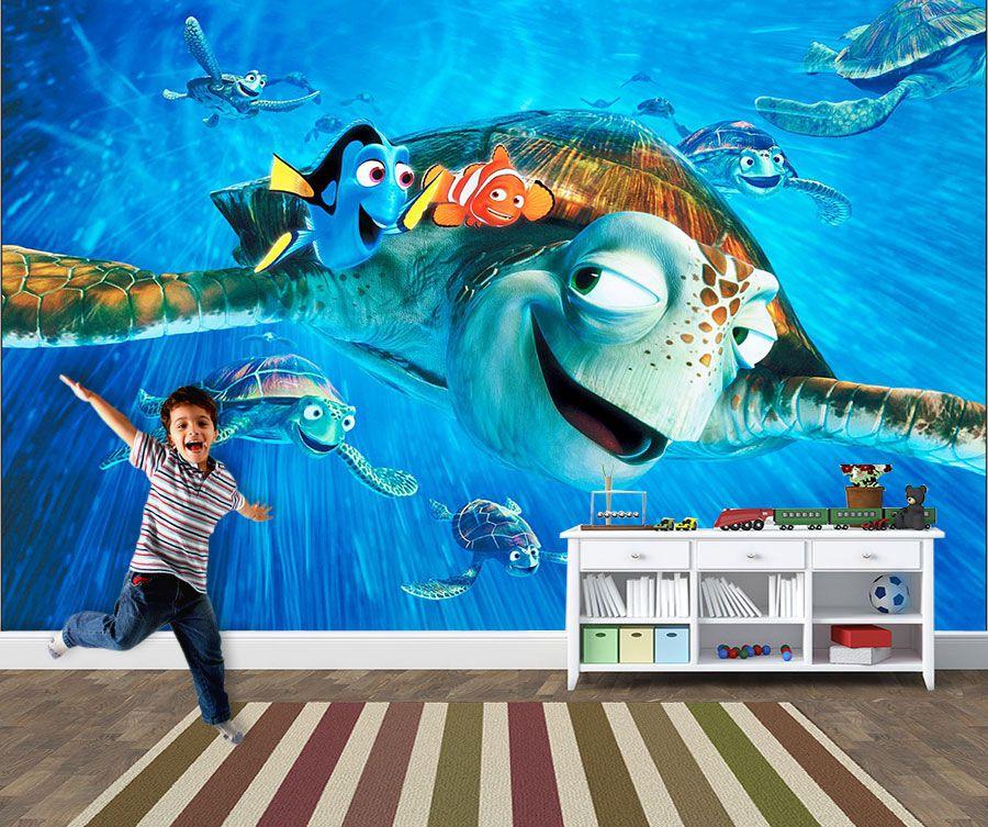 Papel de Parede 3D Nemo 0010 - Adesivos de Parede