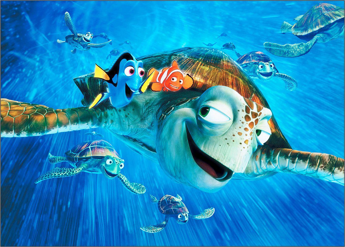 Papel de Parede 3D Nemo 0010 - Adesivos de Parede  - Paredes Decoradas