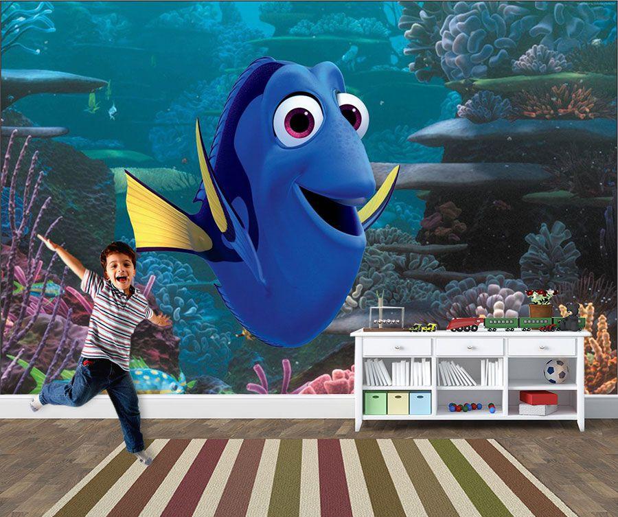 Papel de Parede 3D Nemo 0011 - Adesivos de Parede