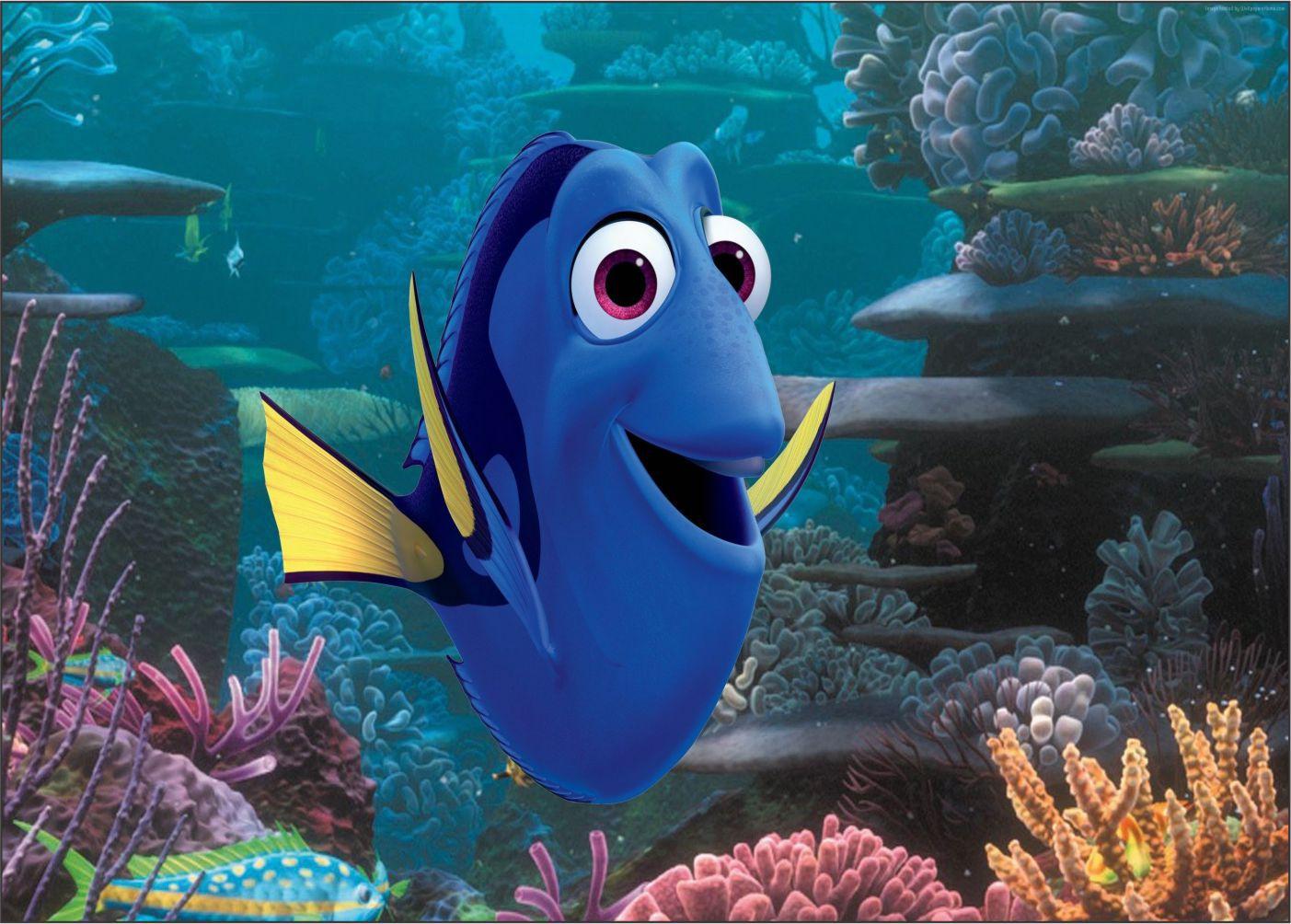 Papel de Parede 3D Nemo 0011 - Adesivos de Parede  - Paredes Decoradas