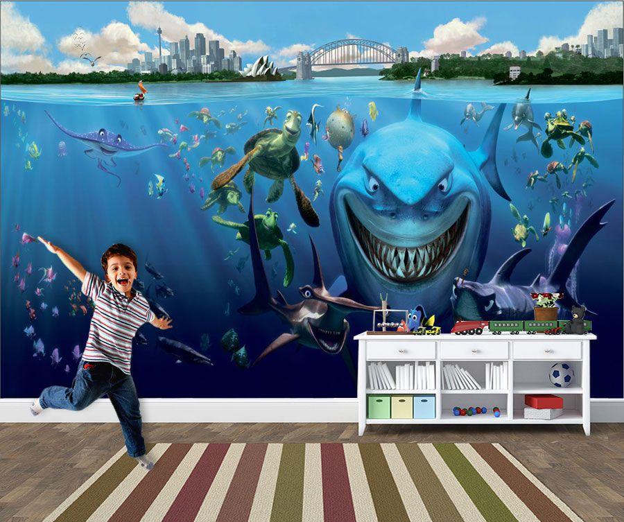 Papel de Parede 3D Nemo 0012 - Adesivos de Parede