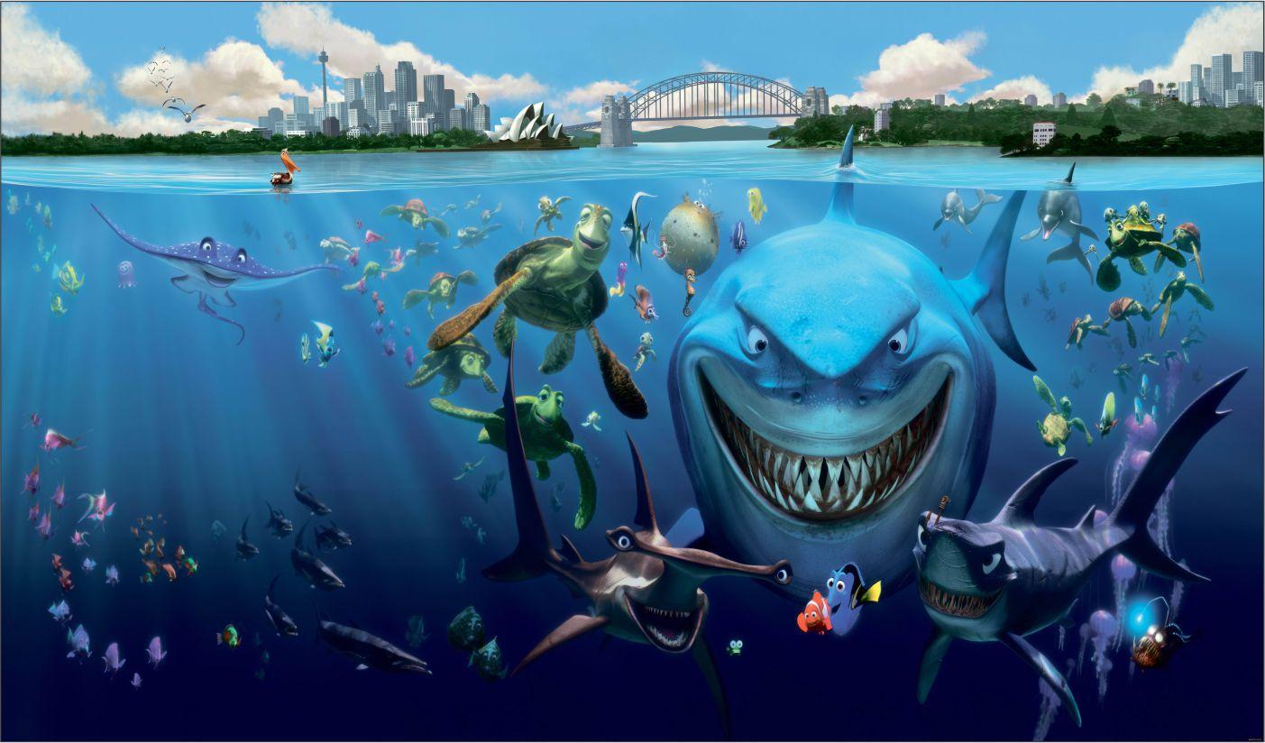 Papel de Parede 3D Nemo 0012 - Adesivos de Parede  - Paredes Decoradas