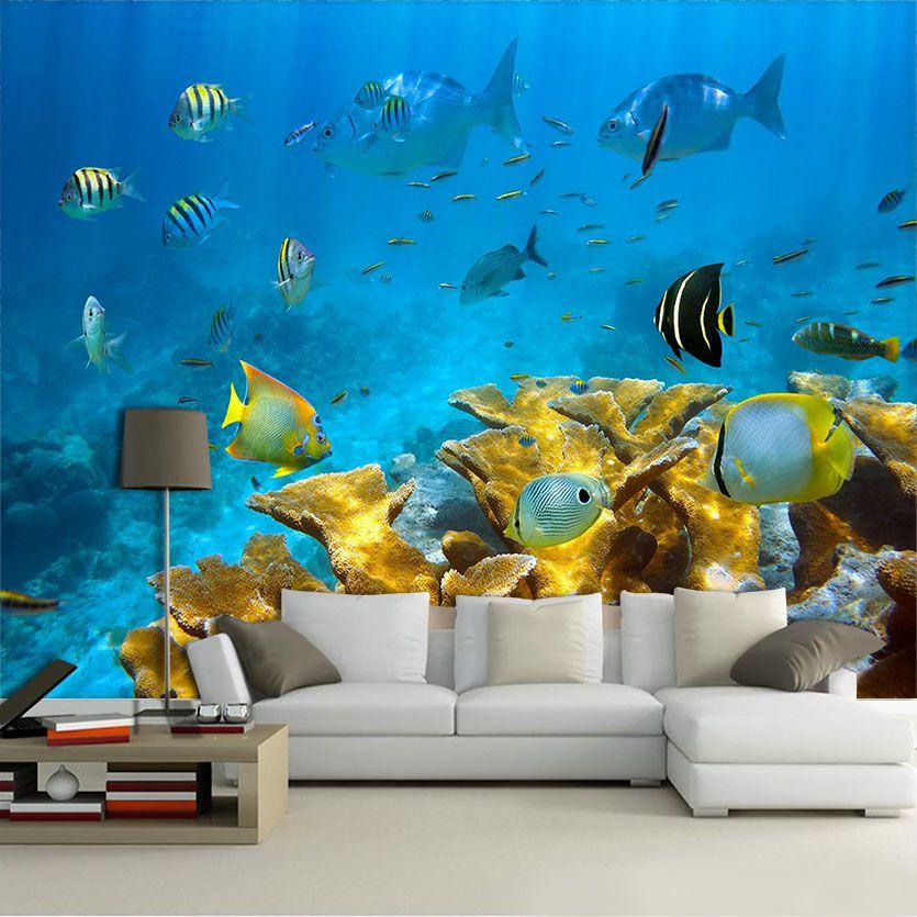 Papel De Parede 3D | Oceanos 0001 - papel de parede paisagem