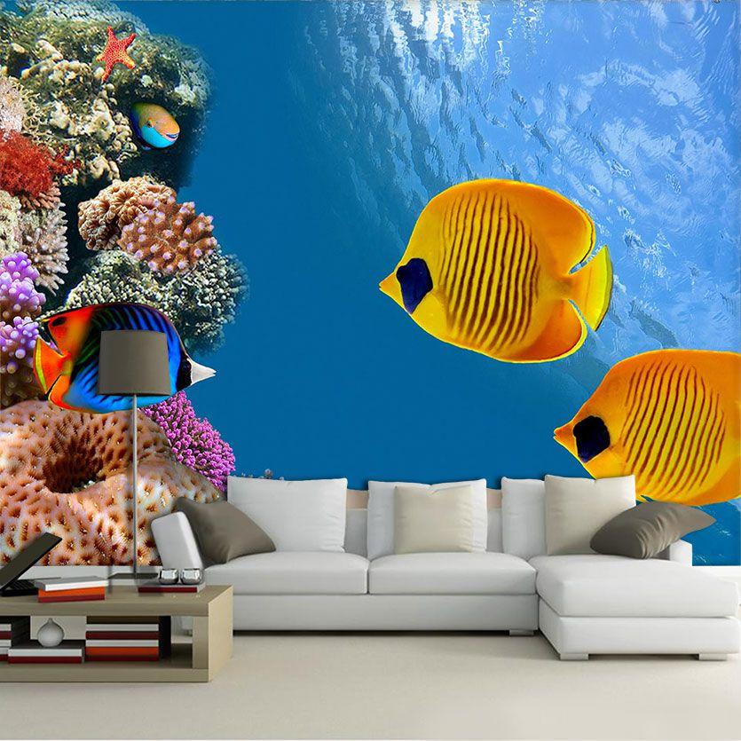 Papel De Parede 3D | Oceanos 0003 - papel de parede paisagem