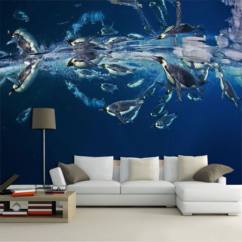 Papel De Parede 3D | Oceanos 0005 - papel de parede paisagem  - Paredes Decoradas