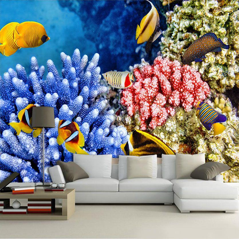 Papel De Parede 3D | Oceanos 0010 - papel de parede paisagem