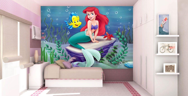 Papel de Parede Infantil Ariel 0002 - papel de parede para quarto
