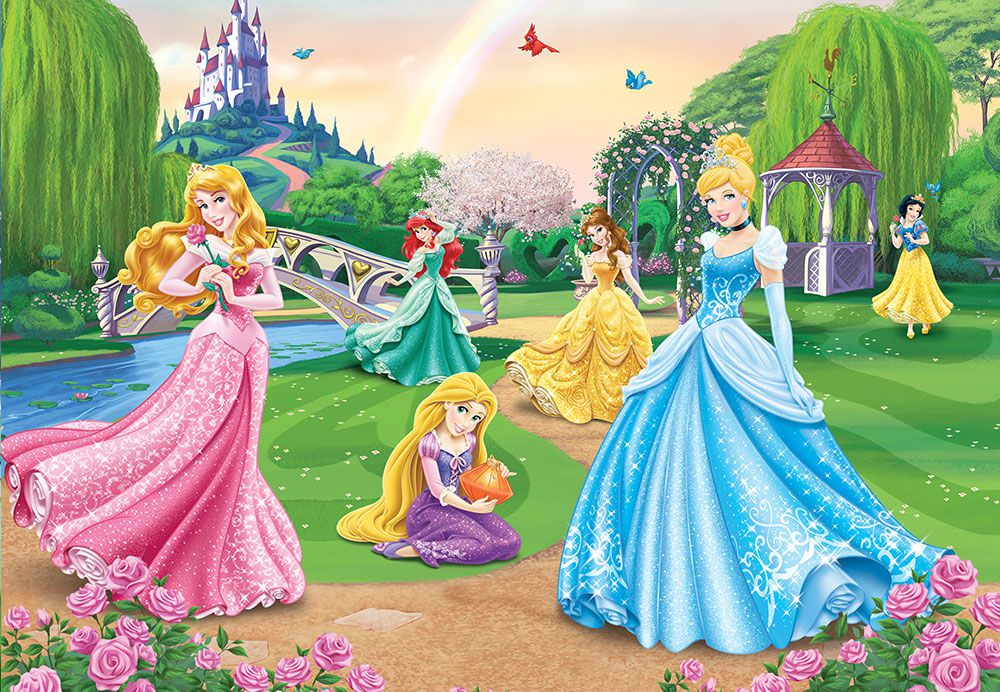 Papel de Parede Infantil Ariel 0003 - papel de parede para quarto  - Paredes Decoradas
