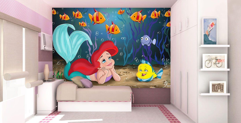 Papel de Parede Infantil Ariel 0006 - papel de parede para quarto
