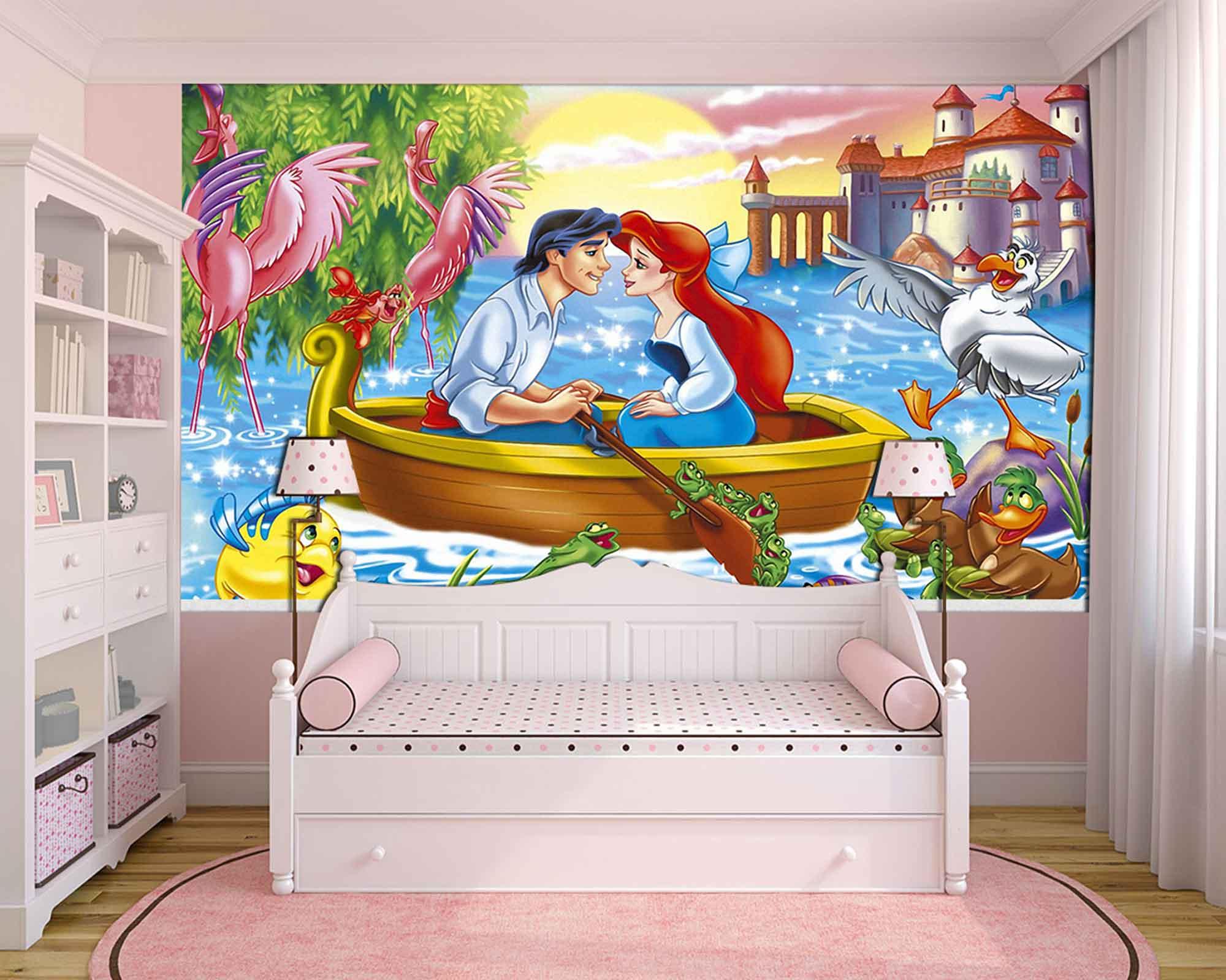 Papel De Parede 3D | Papel de Parede Infantil Ariel 0013 - Sobmedida: m²