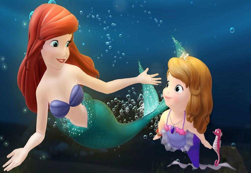 Papel De Parede 3D | Papel de Parede Infantil Ariel 0014 - Sobmedida: m²  - Paredes Decoradas