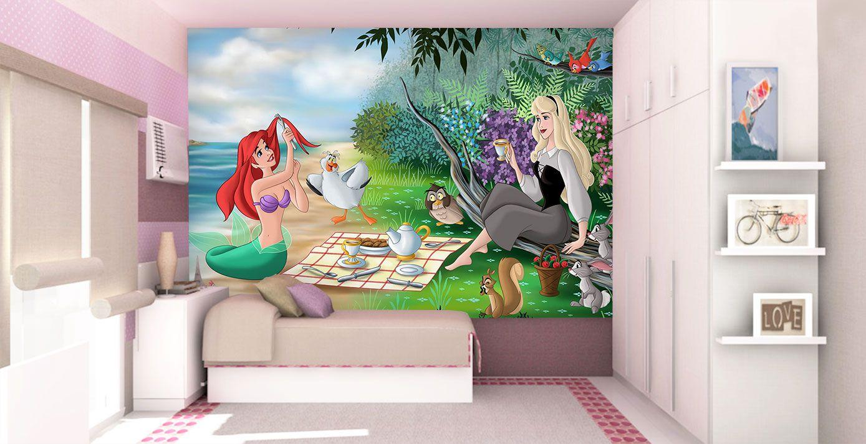 Papel De Parede 3D | Papel de Parede Infantil Ariel 0016 - Sobmedida: m²  - Paredes Decoradas