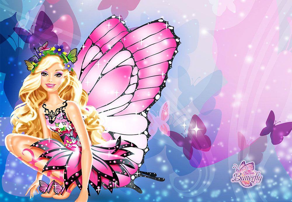 Papel De Parede 3D | Papel de Parede Infantil Barbie 0009 - Sobmedida: m²