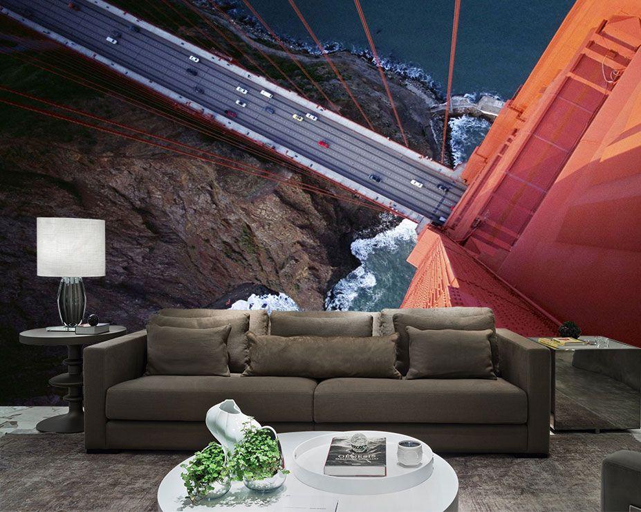Papel De Parede 3D Pontes 0010 - papel de parede paisagem