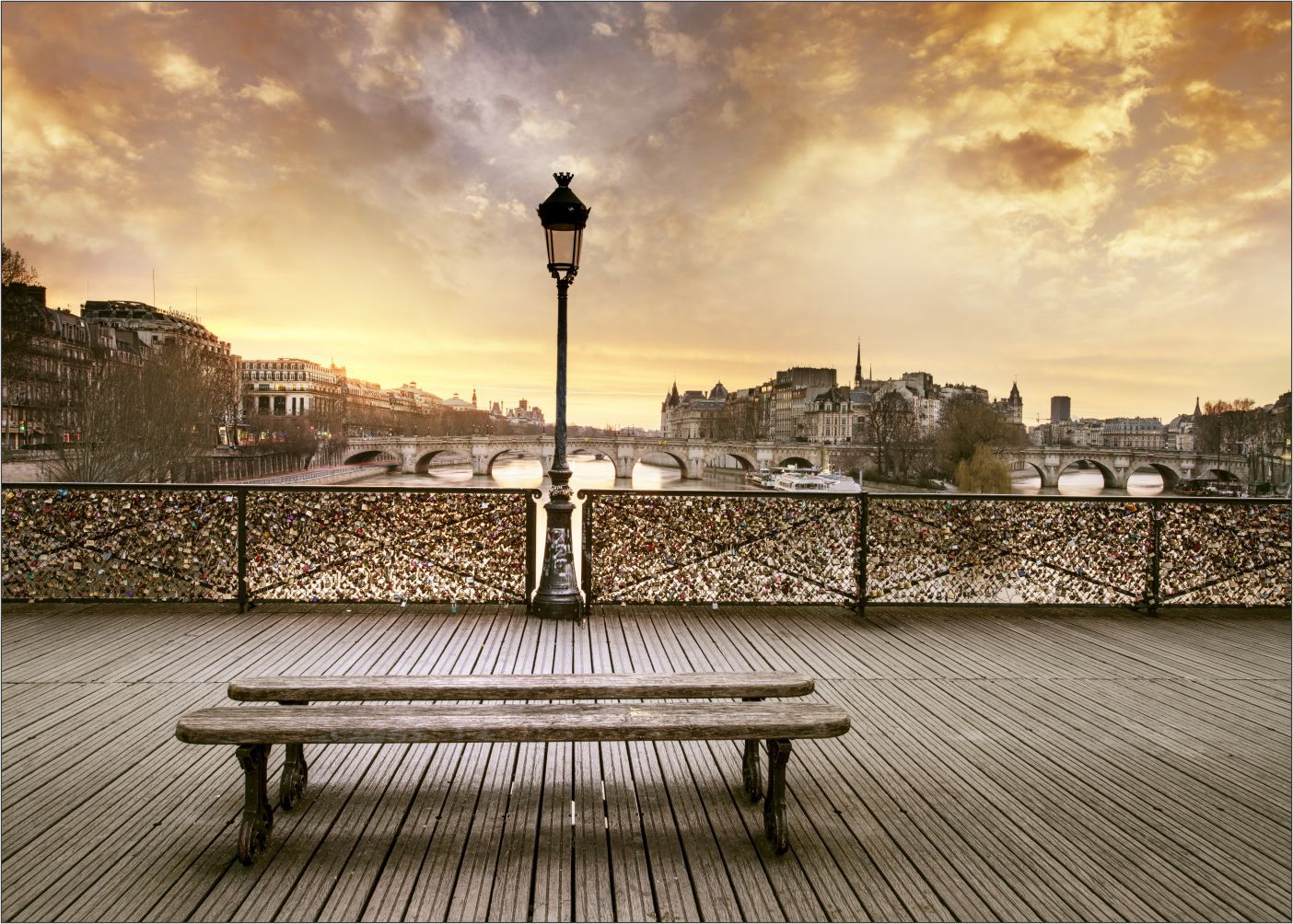 Papel De Parede 3D Pontes 0012 - papel de parede paisagem   - Paredes Decoradas