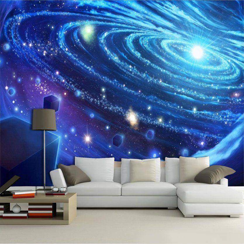 Papel De Parede 3D Universo 0010 - papel de parede paisagem