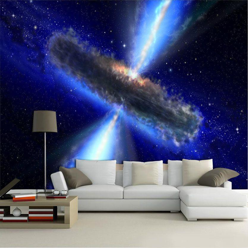 Papel De Parede 3D Universo 0015 - papel de parede paisagem