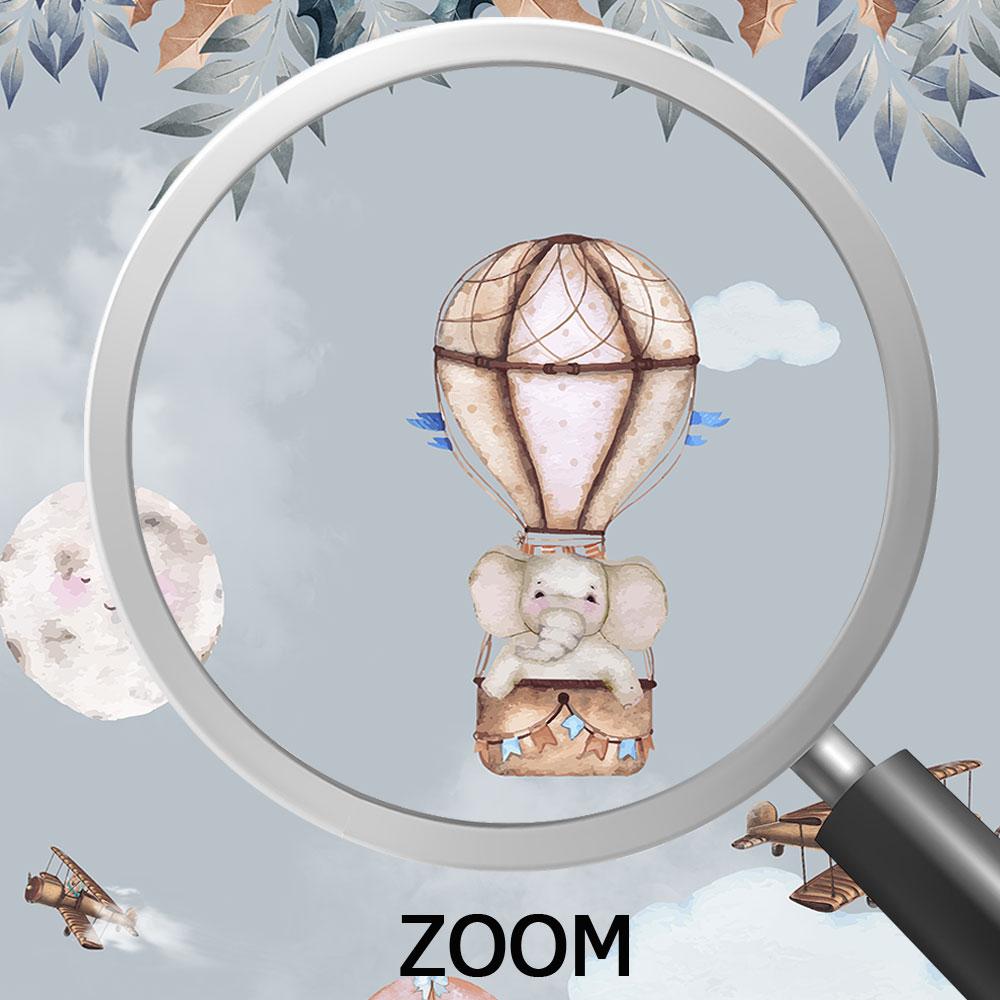 Papel de Parede Adesivo Vinilico 3D Balões 0007  - Paredes Decoradas