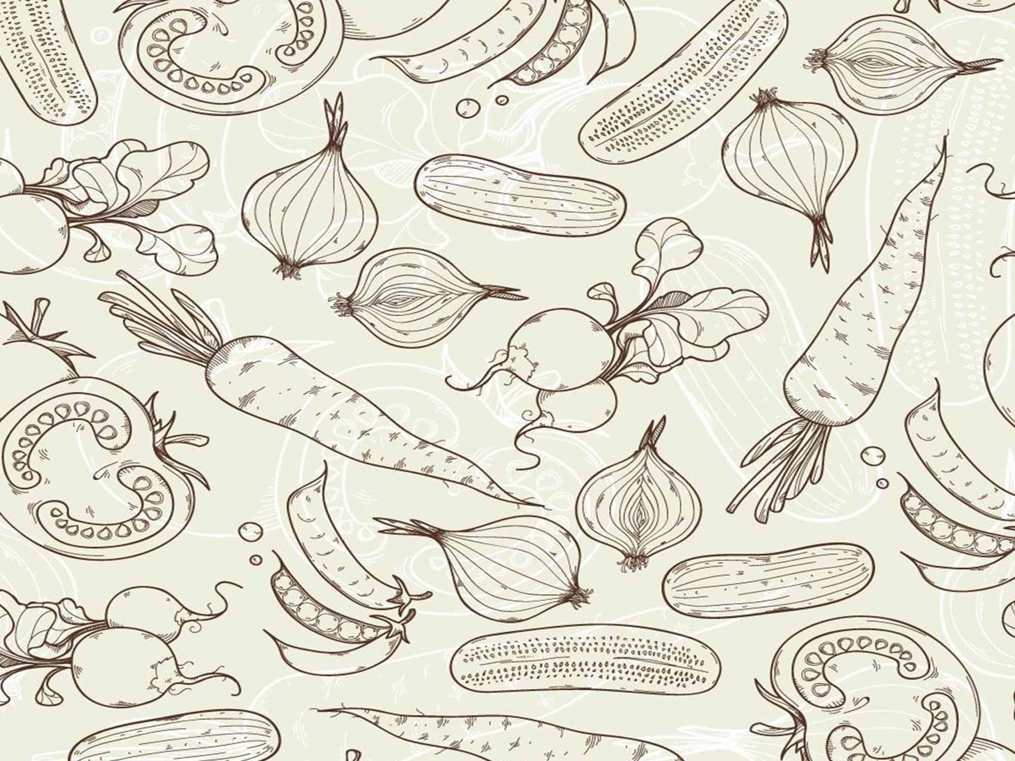 Papel de Parede Cozinha 0006 - Adesivos de Parede  - Paredes Decoradas