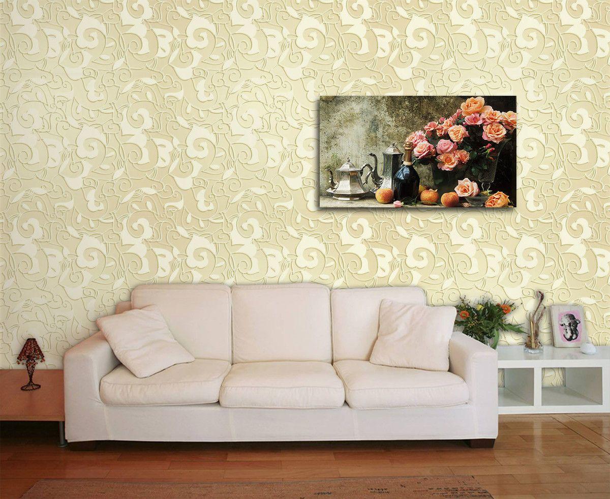 Papel de Parede Floral 0009 - Adesivos de Parede