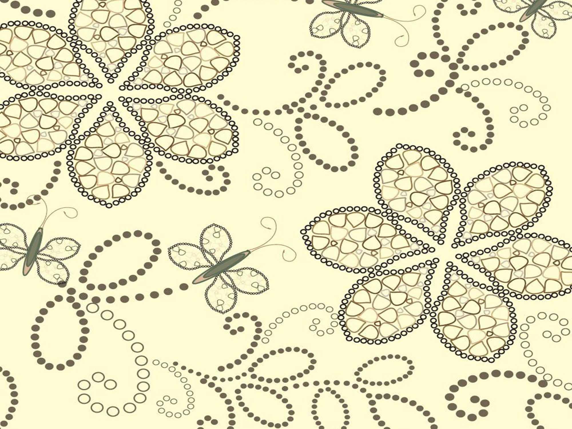 Papel de Parede Floral 0022 - Adesivos de Parede  - Paredes Decoradas