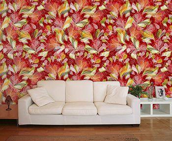Papel de Parede Floral 0024 - Adesivos de Parede
