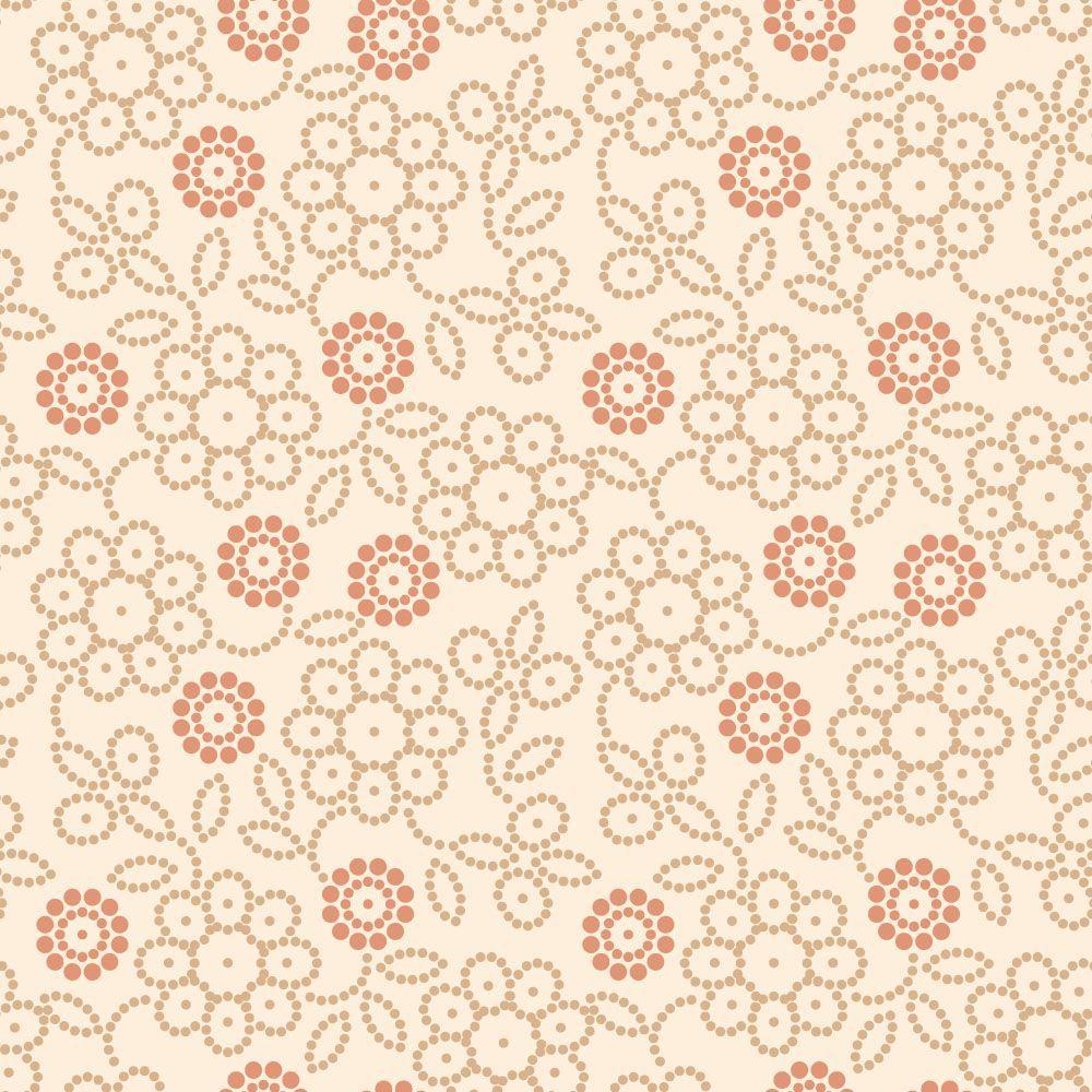 Papel de Parede Floral 0031 - Adesivos de Parede  - Paredes Decoradas