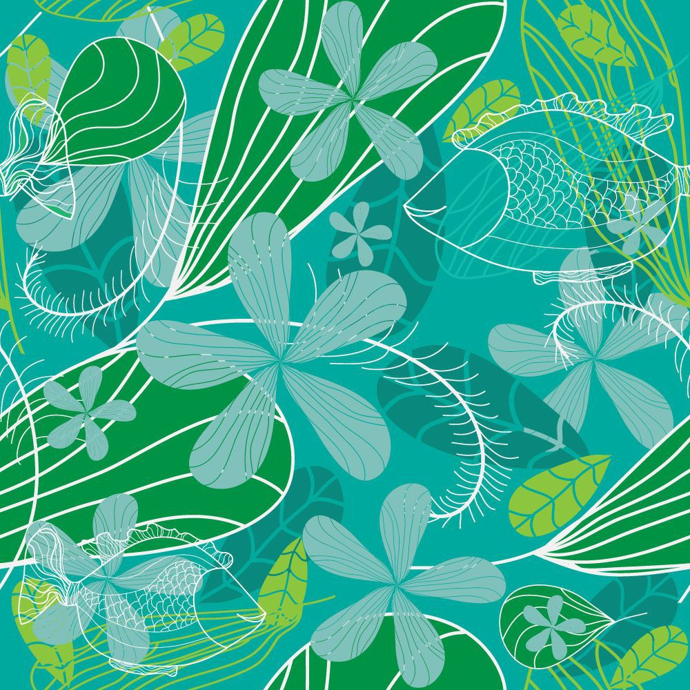 Papel de Parede Floral 0033 - Adesivos de Parede  - Paredes Decoradas