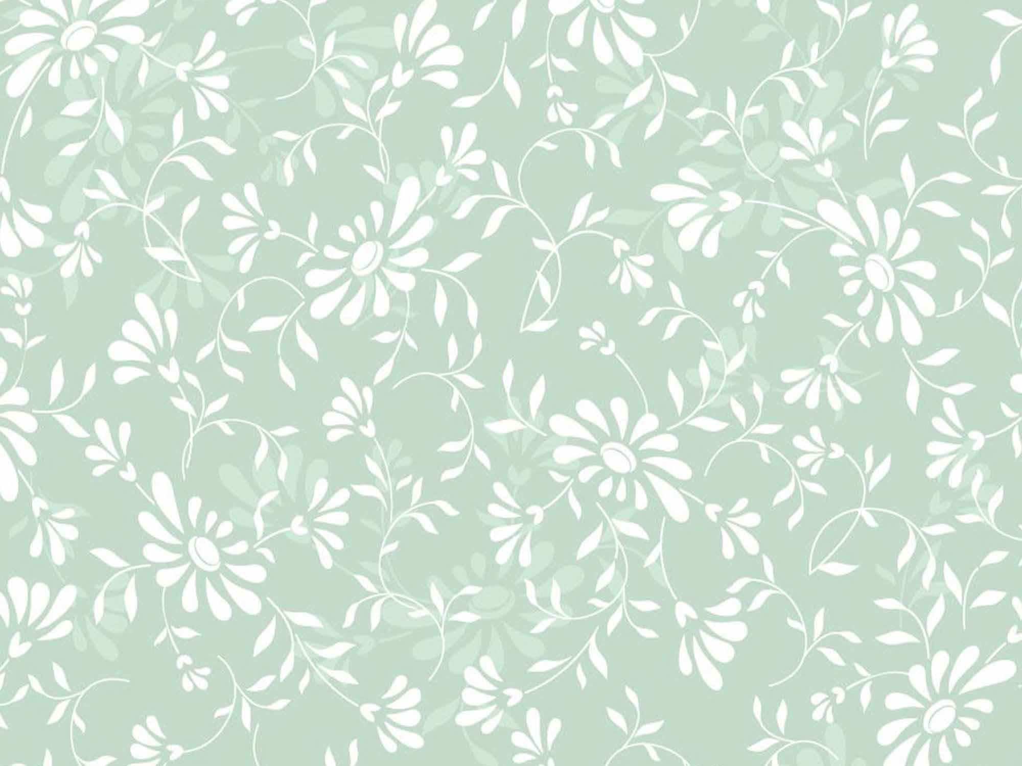 Papel de Parede Floral 0040 - Adesivos de Parede  - Paredes Decoradas